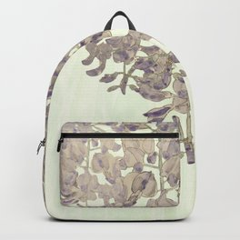 Wisteria - a thing of beauty is a joy forever Backpack