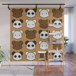 Three Little Bears Wall Mural