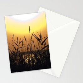 Seagrass - Summersunset - Isle Ruegen Stationery Cards