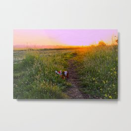 At the End of the Day, What Really Matters ... Metal Print