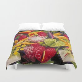 Tropical Arrangement #2 Duvet Cover
