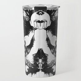 Megaman Geek Ink Blot Test Travel Mug