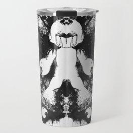 Megaman Geek Ink Blot Test Travel Mug
