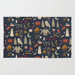 Winter Nights Rug
