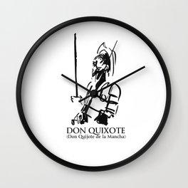 Don Quixote (Don Quijote de la Mancha) Wall Clock