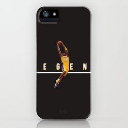 mamba24 iPhone Case