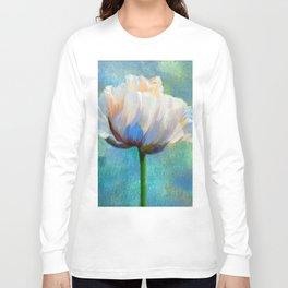 Painterly Poppy Long Sleeve T-shirt