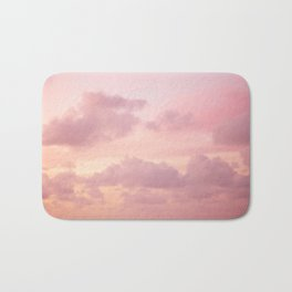 Pink Clouds Bath Mat