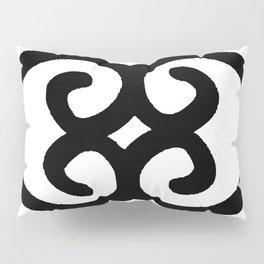 Asase Ye Duru Adinkra Symbol Pillow Sham