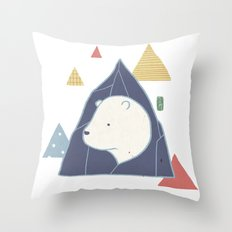 Keep your PolarBear  Throw Pillow