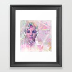 When you appear in my dreams Framed Art Print