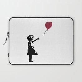 Girl With Red Balloon, Banksy, Streetart Street Art, Grafitti, Artwork, Design For Men, Women, Kids Laptop Sleeve