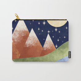 Full Moon In The Mountains Carry-All Pouch