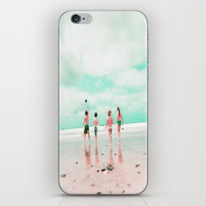 Four & the Beach iPhone & iPod Skin
