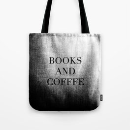 Books & Coffee Tote Bag