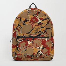 Old Marbled Paper 04 Backpack