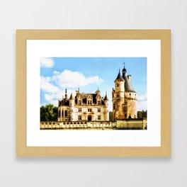 Chateau de Chenonceau Framed Art Print