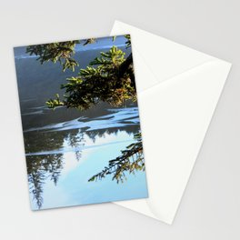 Ice Refelctions Photography Print Stationery Cards