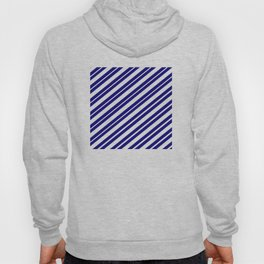 TEAM COLORS 1...Blue and white Hoody