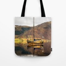 Sailboat Reflections Tote Bag