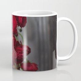 Red, Red Ranunculus Coffee Mug