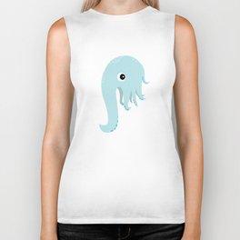 Elephant Squid Biker Tank