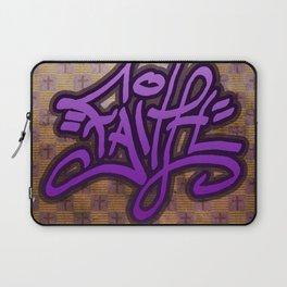 Faith (Graffiti) Laptop Sleeve