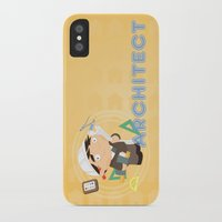 architect iPhone & iPod Cases featuring Architect by Alapapaju