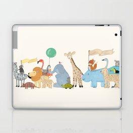 little safari parade Laptop & iPad Skin