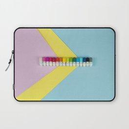Happy little rainbow pills Laptop Sleeve