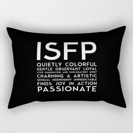 ISFP (black version) Rectangular Pillow