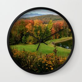 Warren Vermont Foliage Wall Clock