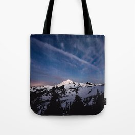Mount Baker - Nature Photography Tote Bag