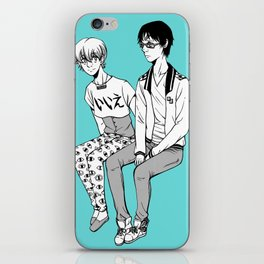 Rei/Nagisa iPhone Skin