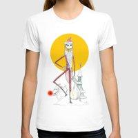 jack skellington T-shirts featuring Jack Skellington  by Future Illustrations- Artwork by Julie C