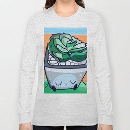 Sleepy Succulent Long Sleeve T-shirt