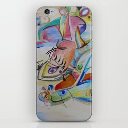 inspiration from Kandinsky . illustration . iPhone Skin