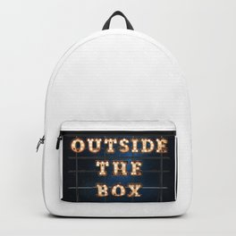 Outside the Box - Wall-Art for Hotel-Rooms Backpack