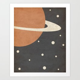 Ring- Space is Hot Art Print