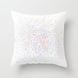 color space Throw Pillow