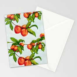 Under The Peach Tree Stationery Cards