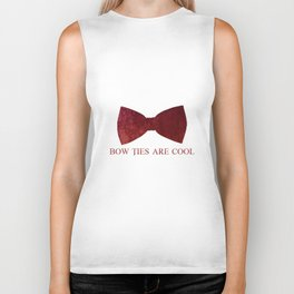 Bow Ties are Cool Biker Tank