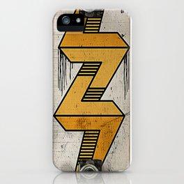 Lightning Bolt Skate Deck iPhone Case