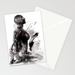 Fetish painting #3 Stationery Cards