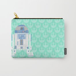 R2-D2 on Mint Rebellion Carry-All Pouch