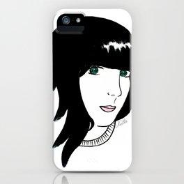 Angela Scott iPhone Case
