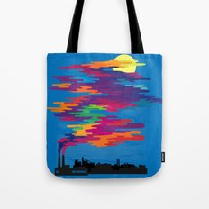 Hidden in the Smog (day) Tote Bag