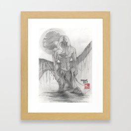 Tarzan Framed Art Print