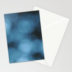 Blue Abstract 1 Stationery Cards