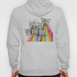 Kittens Puking Rainbows Hoody